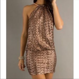 Laundry by Shelly Segal sequin mini dress